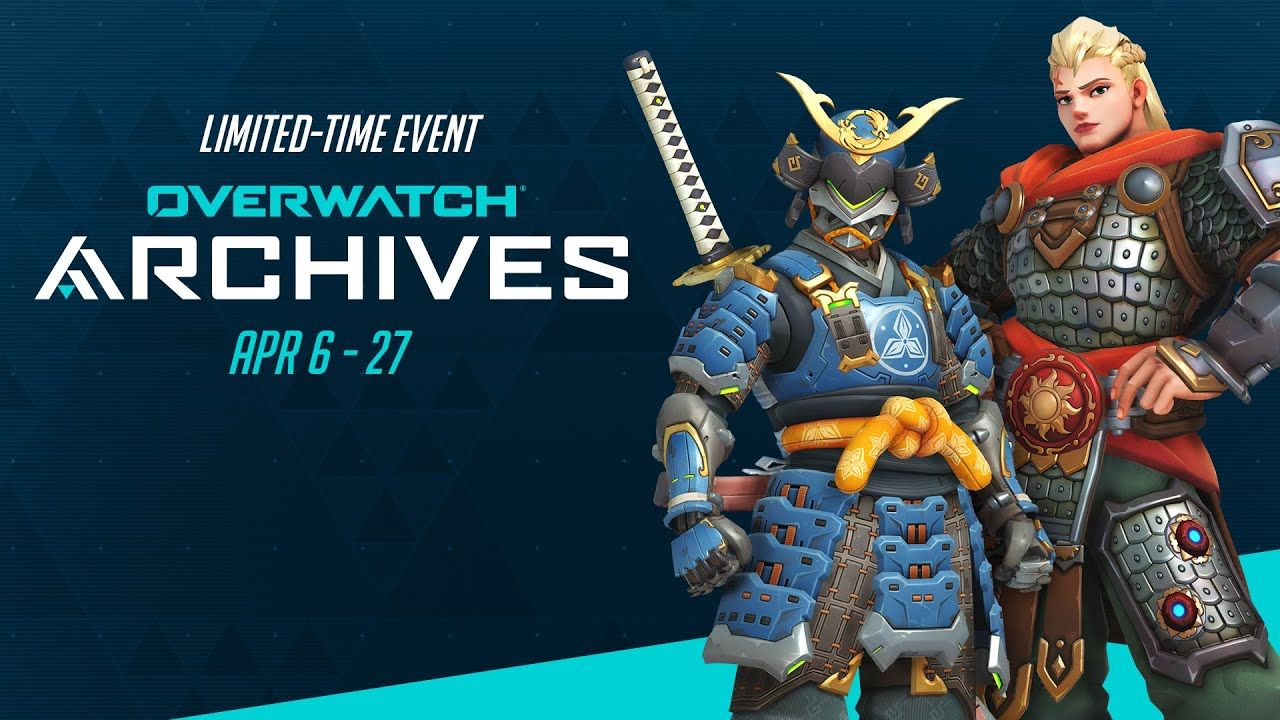 Take a Step Back Through Time with the Overwatch Archives Event